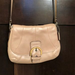 Coach Pearl Pink Cross Body Bag